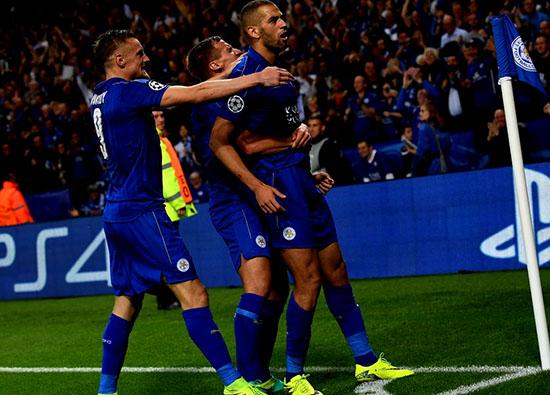 Leicester City Mencatat Rekor 100{248b8d84f5c0a874bafa5cf8bdfd6b771ad875ec0a9f4d6da21d6655cc8a48c0} Di Liga Champions Eropa