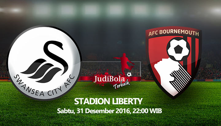 Prediksi Bola Swansea City Vs AFC Bournemouth 31 Desember 2016
